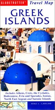 Cover of: Greek Islands Travel Map | Globetrotter