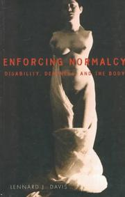 Cover of: Enforcing normalcy