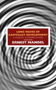 Cover of: Long waves of capitalist development