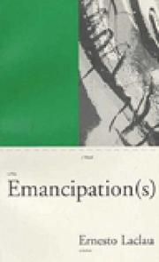 Cover of: Emancipation(s)