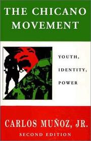 Cover of: The Chicano Movement