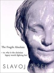 Cover of: The Fragile Absolute | Slavoj Zizek