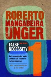 Cover of: False Necessity