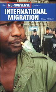 Cover of: The no-nonsense guide to international migration | Peter Stalker