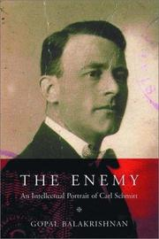 Cover of: The Enemy
