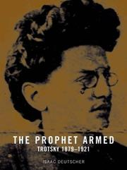 Cover of: The Prophet Armed: Trotsky