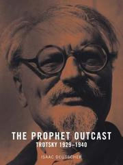Cover of: The Prophet Outcast: Trotsky