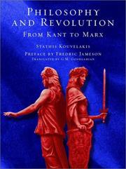 Cover of: Philosophy and revolution
