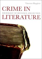 Cover of: Crime in Literature