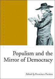 Cover of: Populism and the Mirror of Democracy