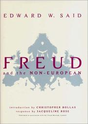 Cover of: Freud and the non-European: dirāsah
