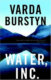 Cover of: Water Inc. | Varda Burstyn