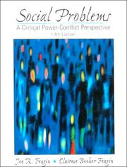 Cover of: Social problems: a critical power-conflict perspective