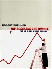 Cover of: The Boom and the Bubble | Robert Brenner