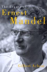 Cover of: The Legacy of Ernest Mandel