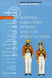 Cover of: Mapping subaltern studies and the postcolonial |