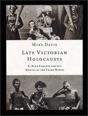 Cover of: Late Victorian Holocausts