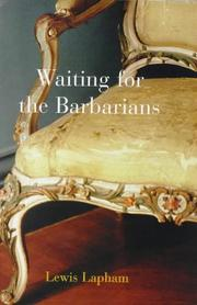 Cover of: Waiting for the barbarians