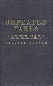 Cover of: Repeated takes