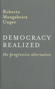Cover of: Democracy realized