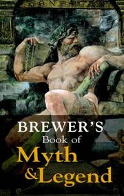 Cover of: Brewer's Book of Myth and Legend (Helicon Reference Classics)