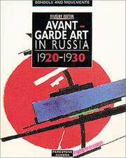 Cover of: Avant Garde Art in Russia (Schools and Movements) (Schools & Movements)