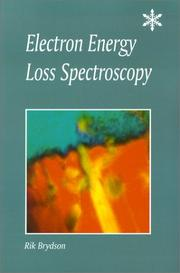 Cover of: Electron Energy Loss Spectroscopy