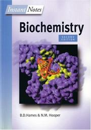 Cover of: Instant Notes in Biochemistry (Instant Notes)