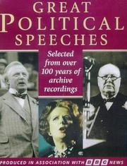 Cover of: Great Political Speeches