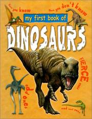 Cover of: My First Book of Dinosaurs (My First Book Of...)