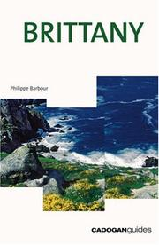 Cover of: Brittany, 3rd (Country & Regional Guides - Cadogan)