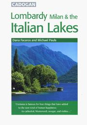 Cover of: Lombardy, Milan & Italian Lakes