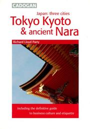 Cover of: Japan Three Cities