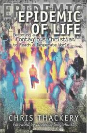 Cover of: Epidemic of Life