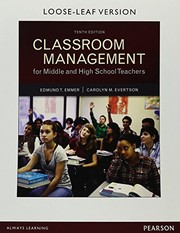 Cover of: Classroom Management for Middle and High School Teachers, Loose-Leaf Version