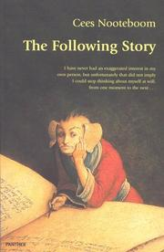 Cover of: The Following Story