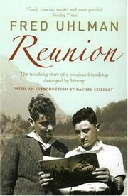 Cover of: Reunion | Fred Uhlman