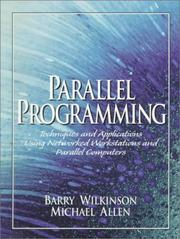 Cover of: Parallel Programming | Barry Wilkinson