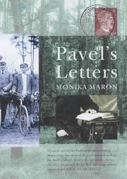 Cover of: Pavel's Letters