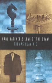 Cover of: Carl Haffner's Love of the Draw