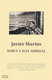 Cover of: When I Was Mortal