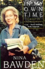 Cover of: In My Own Time