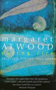 Cover of: Eating fire: selected poetry 1965-1995