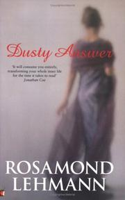 Dusty answer by Rosamond Lehmann