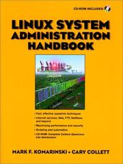 Cover of: Linux system administration handbook