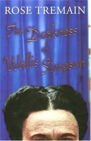 Cover of: The Darkness of Wallis Simpson