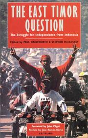 Cover of: The East Timor question |