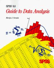 Cover of: SPSS 8.0 guide to data analysis | M. J. NorusМЊis