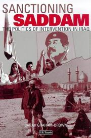 Cover of: Sanctioning Saddam