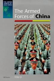 Cover of: The Armed Forces of China (The Armed Forces of Asia) | You Ji